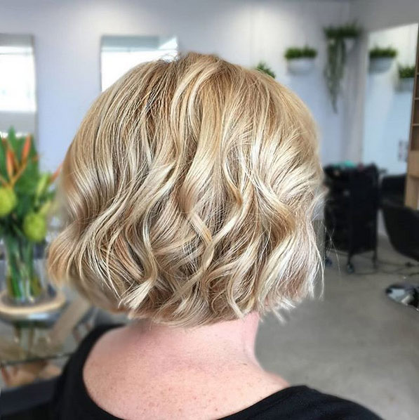 soft and muted short hair